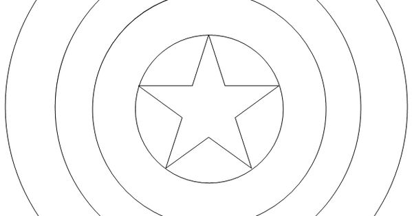 Captain America Shield Coloring Pages 1000+ Images About Captain America On Pinterest Captain