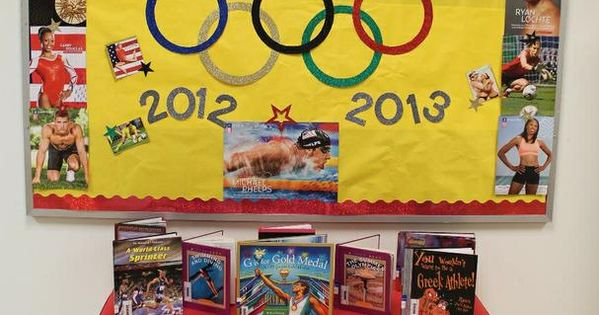 Go For The Gold! - Olympic Themed Back-To-School Board ...