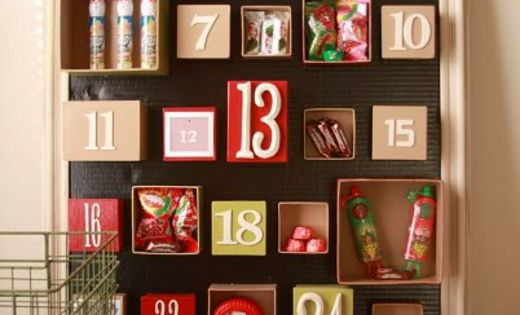 adventskalender ganz leicht selbst gemacht bilderrahmen. Black Bedroom Furniture Sets. Home Design Ideas