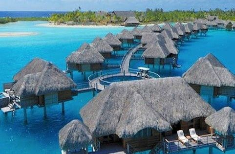 The Infinite Gallery : Bora Bora Resort & Vacation | Four Seasons
