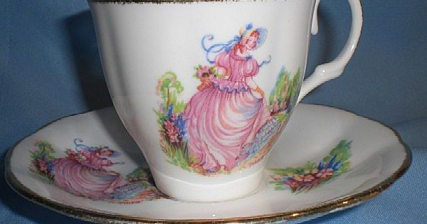 Jason Bone China Cup And Saucer Pinkie Vintage Teacup