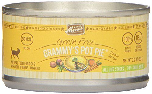 Classic Small Breed Grammys Pot Pie Canned Dog Food 32oz Case Of