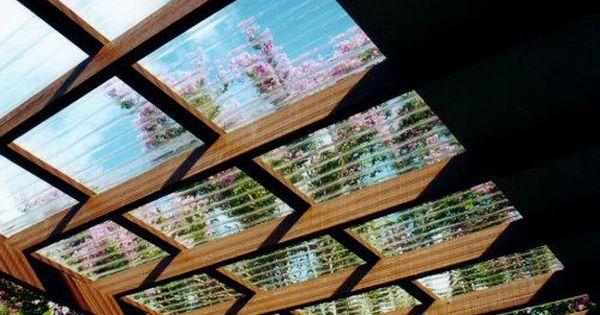 3c792415493a7e28b1739e7ab4e6fd00 Jpg 500 337 Corrugated Roofing Pergola With Roof Fibreglass Roof