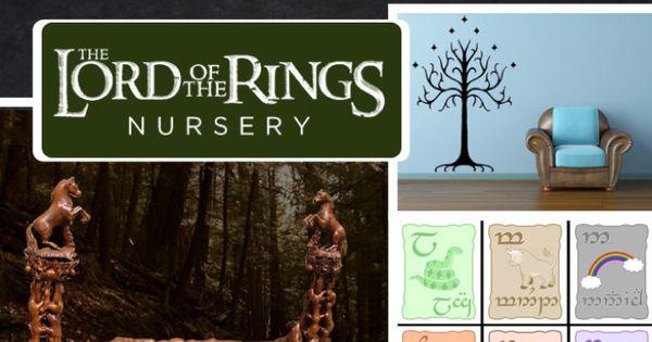 Lord of the rings nursery