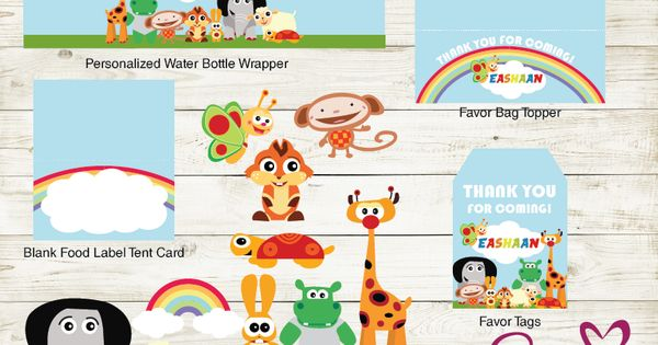 Baby Tv Party Kit Baby Tv Party Printables Party Printables Party Kit Baby Clip Art