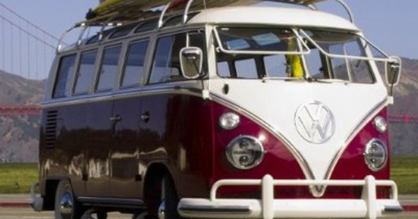 One of my dream cars :} Volkswagen Bus aka Van