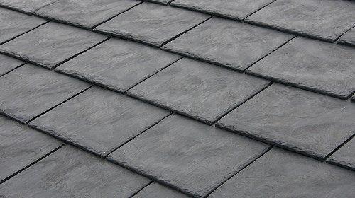 Composite Slate Roof Shingles In 2020 Slate Roof Shingles Slate Roof Synthetic Slate Roofing