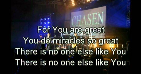 You do miracles so great lyrics