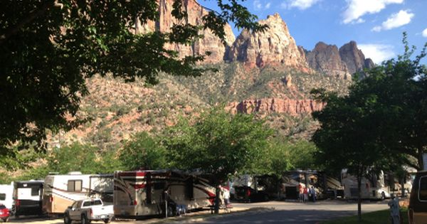 Zion National Park Campground Zion Canyon Campground And Rv Resort 479 Zion Park Blvd Springdale Ut 84767 435 772 3237