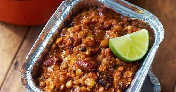Kerryann's chilli con veggie This easy veggie chilli recipe is full of