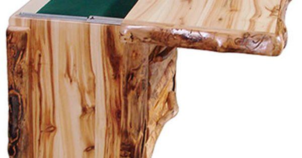Log Furniture Log Nightstand W Hidden Compartment Aspen Log Furniture Minnesota Western Furniture Aspen Furniture Rustic Furniture