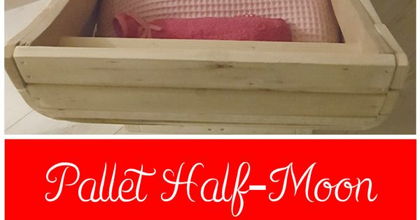 I Made This Half Moon Cradle From Used Pallets I Have All