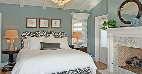 remarkable wedgewood gray bedroom | Benjamin Moore Wedgewood Gray: HC-146: | Decorating ...