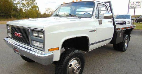 1988 GMC Sierra 3500 V3500 Cab & Chassis 4x4 **FOR SALE ...