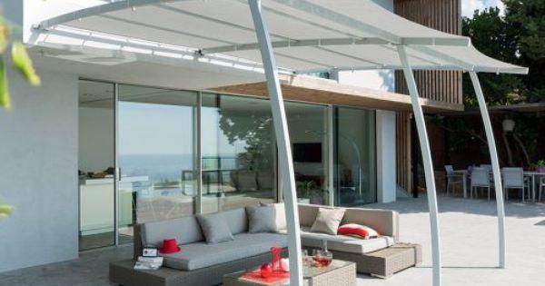 Pergola Adossee La Digue 3 X 4 M Grise Hesperide Pergola Mobilier De Jardin Design Decoration Exterieur