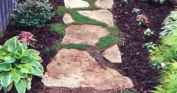 Dise o de jardines con piedras garden paths paths and - Disenos de jardines con piedras ...