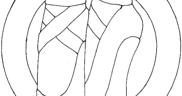 Picture Of Ballerina Shoes Coloring Pages Bulk Color Ballerina Coloring Pages Dance Coloring Pages Mosaics For Kids