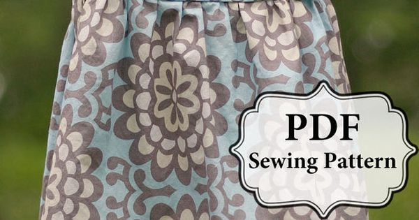 Apron knot dress sewing pattern.. @Sunny Smith I'm gonna make this for