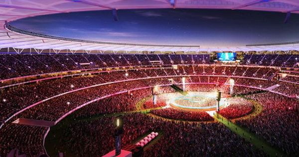 Pin By Bobby King On Church In 2020 Stadium Architectural Led Lighting Philips