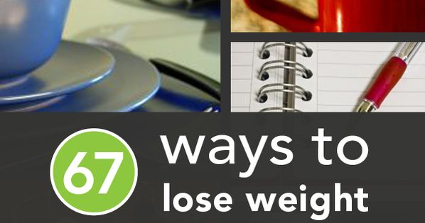 67 Science Backed Ways to Lose Weight, has some good advice!