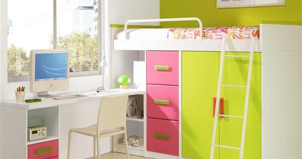 Dormitorios fotos de dormitorios im genes de habitaciones - Literas para ninos pequenos ...