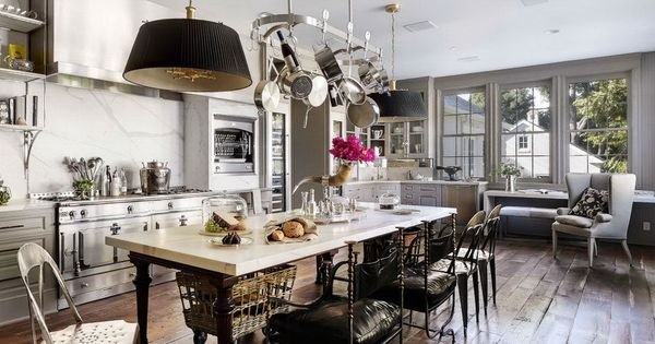 Dream Kitchen. Celebrity Home Photos: Gwyneth Paltrow