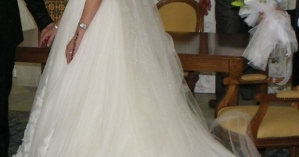 Robe de mariée doccasion Pronovias Manuel Mota modèle Prestigio ...