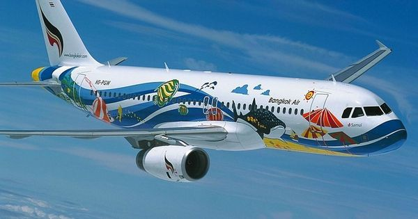 Bangkok air airbus a320 200 samui aviones pinterest - Thai airways dubai office ...