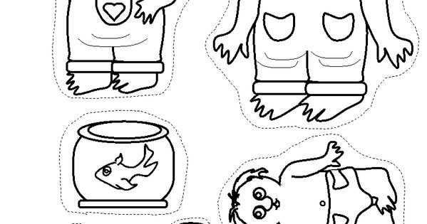 Little critter mercer mayer popsicle stick puppets for Little critter coloring pages