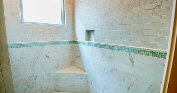 Crossville 39 s virtue tile with hydrotect glass mosaic for Crossville tile virtue