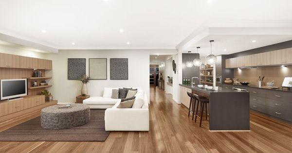 Chelsea uw kitchen living 01 new home designs metricon for Metricon new home designs