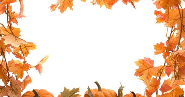 Free Full Page Borders Designs | Free Thanksgiving ...