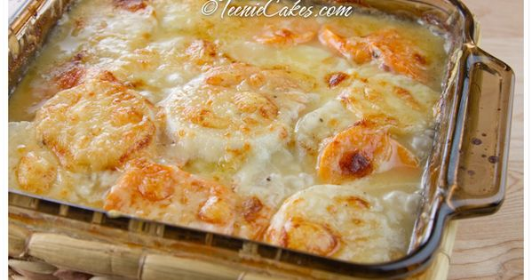 Turnip and Sweet Potato Gratin with Gruyere · | Gratin ...