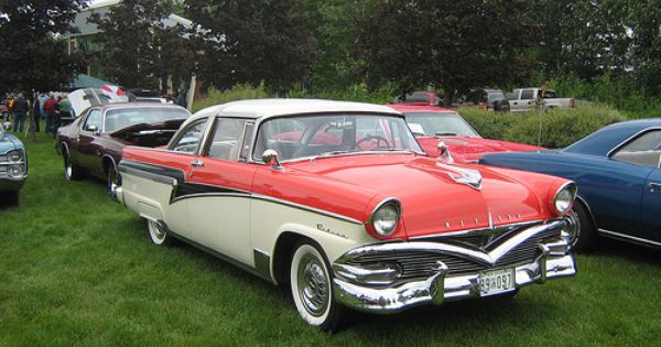1956 Meteor Rideau Two Door Mercury Cars Classic Cars Ford