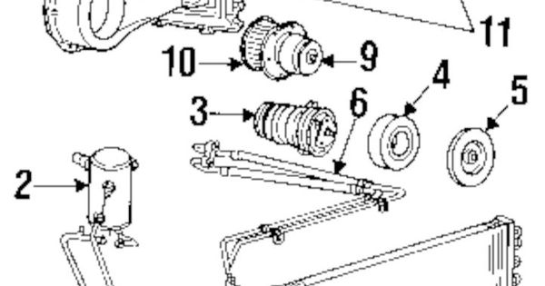 details about gm oem c ac evaporator core 3036687