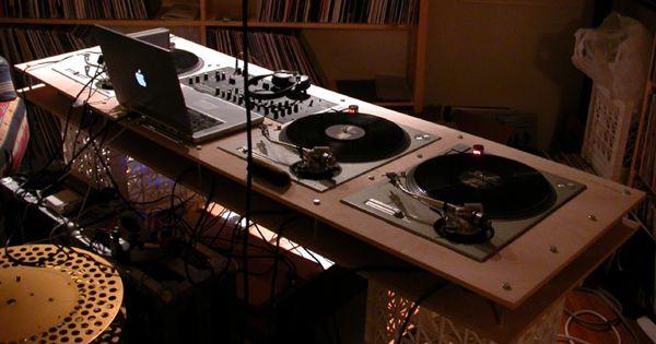 Dj Table Diy Dj Booth Pinterest Dj Table Dj And Dj