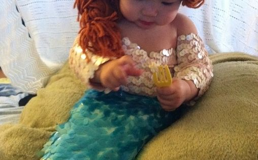 Ariel from The Little Mermaid - Homemade Halloween Costume