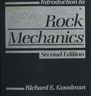 Introduction To Rock Mechanics 2nd Edition Book Nooks Books Introduction