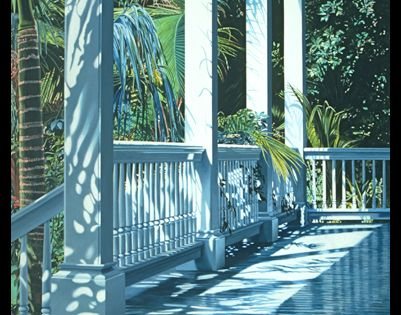 Patrick S Porch 1990 Oil On Canvas 78x60 This Image