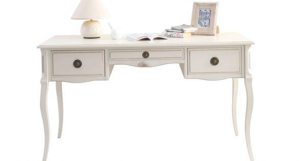 Une ligne impeccable pour le bureau baroque bianca for Bureau style romantique