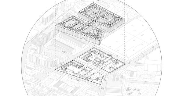 Rheingold Project By Oda New York Brooklyn City Diagram Architecture New York City