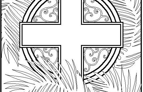 Catholic Coloring Sheets For Easter