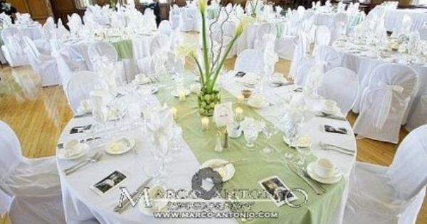 Pin By Rebekka Schleier On A R Reception Centerpieces Table Runners Wedding Table Runner Diy Round Wedding Tables