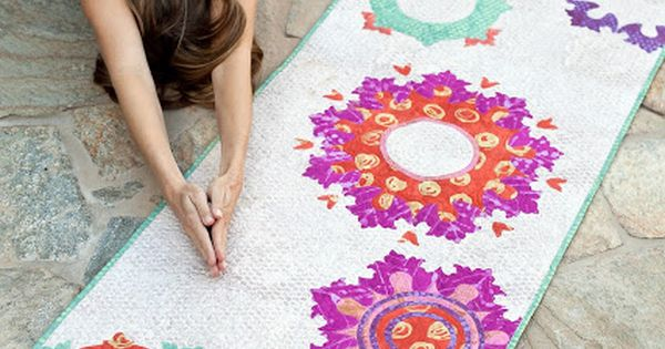 Good Karma / make a quilted yoga mat cover, pattern by ...