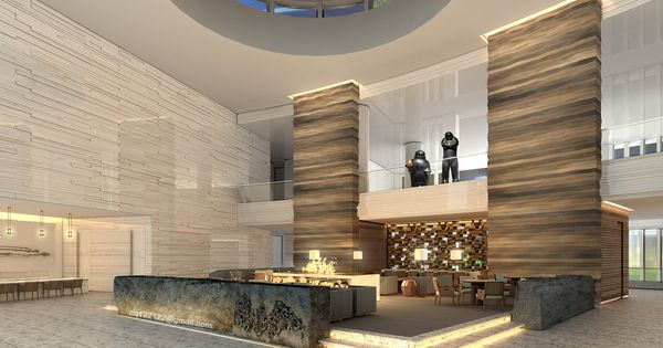Modern hotel lobby 6 ways hotel lobbies teach us about for Hotel lobby design trends
