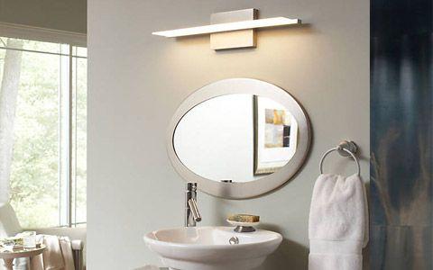 George Kovacs 20 1 2 Wide Chrome Led Bath Light Modern Bathroom