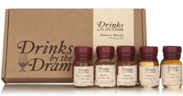 Drinks By The Dram Japanese Whisky Tasting Set 5 X 3cl Amazon