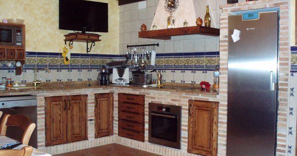 Resultado de imagen de cocinas r sticas de ladrillo - Cocina de ladrillo ...