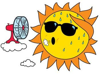 Your Summer Cooling Strategy Summer Season Heat Smiley