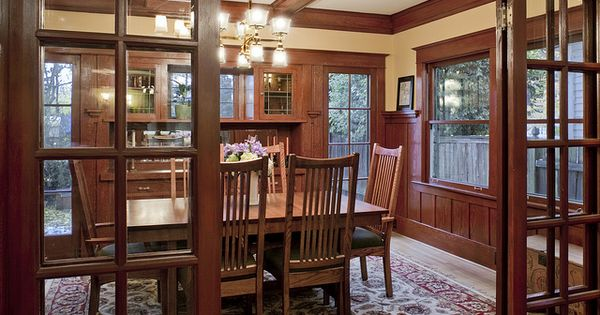 Kidder House Remodel Craftsman Design Love The French